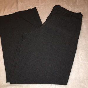 GAP Black Perfect Trouser Wide Leg Pants Size 14
